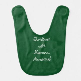 """""""Weihnachten mit Mamaw… fantastisch!"""" Schellfisch Lätzchen"""
