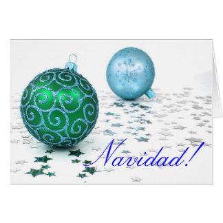 Weihnachten Navidad II Grußkarte