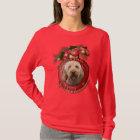 Weihnachten - Plattform die Hallen - Goldendoodles T-Shirt