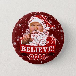 Weihnachten Präsidenten-Donald Trump glauben Runder Button 5,7 Cm