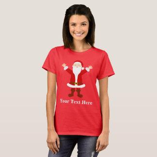 Weihnachten Sankt personalisiert T-Shirt