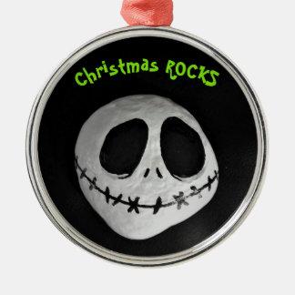 Weihnachten SCHAUKELT Verzierung Silbernes Ornament
