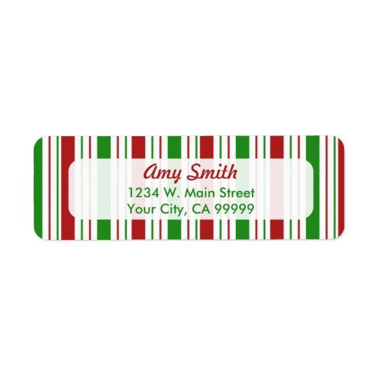 Weihnachten Stripes