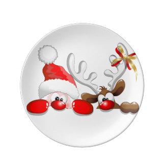 Weihnachten Teller