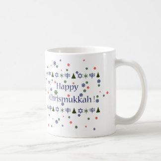 Weihnachten und kombinierte Tasse Chanukkas Kaffeetasse