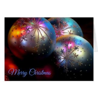 Weihnachten verziert 2011 3 karte