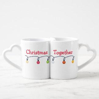 Weihnachten zusammen liebestassen