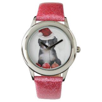 WeihnachtenBernese Gebirgshund Armbanduhr