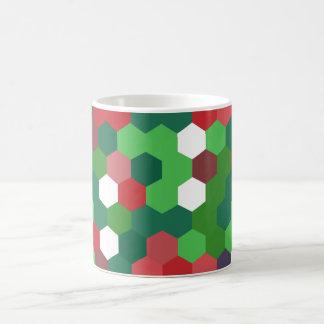 WeihnachtenGeometrix Entwurf Kaffeetasse