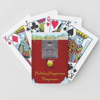WeihnachtenGumball Maschinen-Spielkarten Bicycle Spielkarten