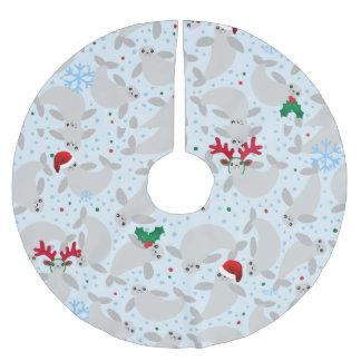 Weihnachtenmanatisweihnachtsbaumrock Polyester Weihnachtsbaumdecke