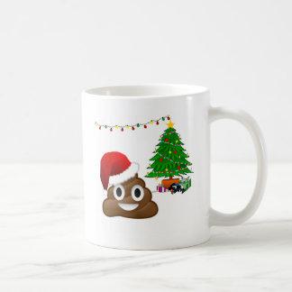 Weihnachtenpoo emoji kaffeetasse