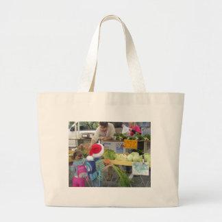 Weihnachts-/des Feiertags-Bauernmarkt-Tasche Jumbo Stoffbeutel