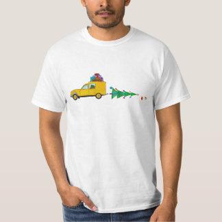 Weihnachtsauto mit Geschenken T-Shirt
