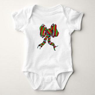 Weihnachtsbaby-Bodysuit mit Bögen - Baby Strampler