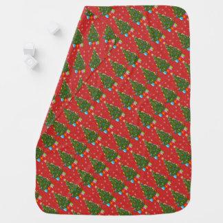 Weihnachtsbaum-Baby-Decke Babydecke