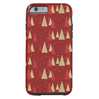 Weihnachtsbaum-BlackBerry-mutige Tough iPhone 6 Hülle
