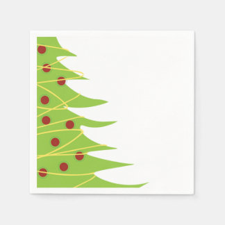 Weihnachtsbaum-Cocktail-Servietten Servietten