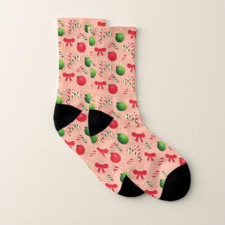 Weihnachtsbaum-Dekor-Muster Socken