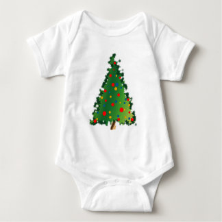 Weihnachtsbaum-Dekoration Baby Strampler