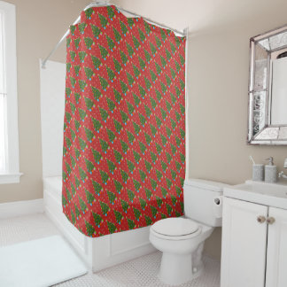 Weihnachtsbaum-Duschvorhang Duschvorhang