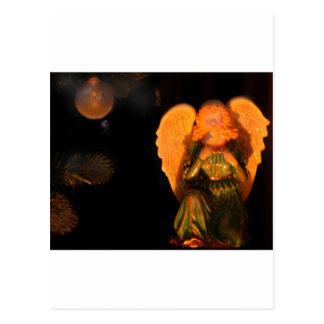 Weihnachtsbaum-Engel Postkarte