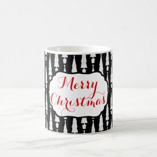 Weihnachtsbaum/frohe Weihnachten Kaffeetasse