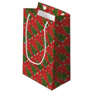 Weihnachtsbaum-Geschenk-Tasche Kleine Geschenktüte