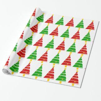 Weihnachtsbaum Geschenkpapier