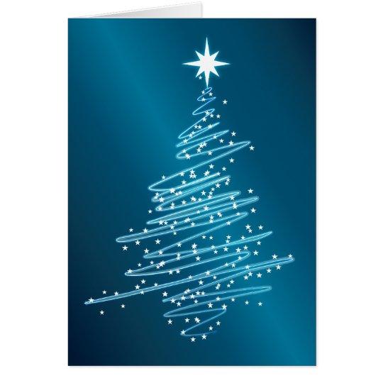 Weihnachtsbaum Grußkarte