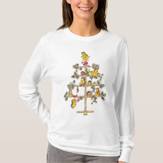 Weihnachtsbaum Igel T-Shirt