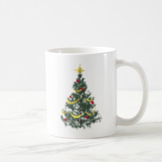 Weihnachtsbaum Kaffeetasse