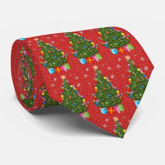 Weihnachtsbaum-Krawatte Bedruckte Krawatte