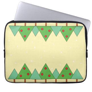 Weihnachtsbaum Laptopschutzhülle
