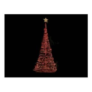 Weihnachtsbaum Postkarte