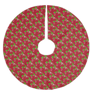 Weihnachtsbaum-Rock-Gewohnheit Polyester Weihnachtsbaumdecke