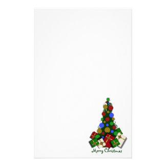 Weihnachtsbaum stationär briefpapier