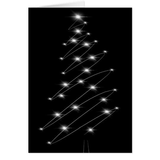 Weihnachtsbaum-unbedeutende Weihnachtskarte Karte