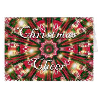 Weihnachtsbeifall Karte