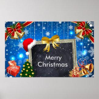 Weihnachtsbell-Geschenke und Poster