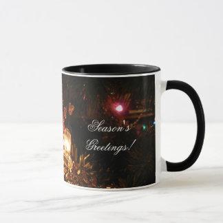Weihnachtsbell-Licht Tasse