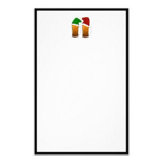 Weihnachtsbier-Beifall Briefpapier