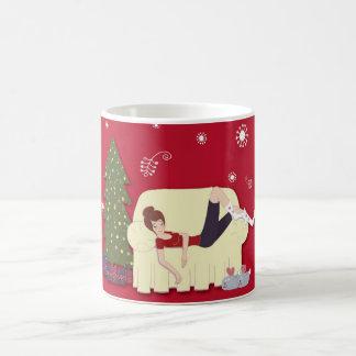 Weihnachtsbliss-Tasse Tasse