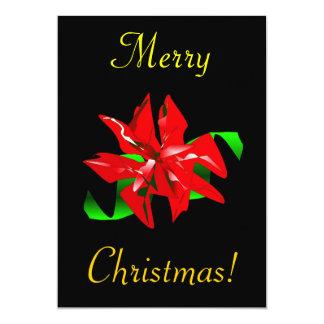 WeihnachtsBlume 12,7 X 17,8 Cm Einladungskarte