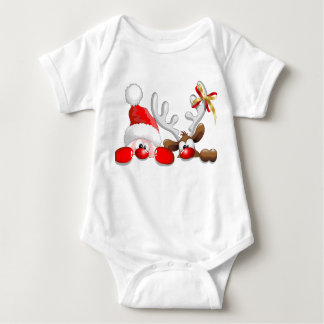 Weihnachtsbodysuits Baby Strampler