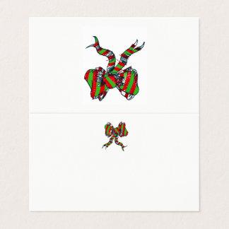 Weihnachtsbogen-Platzkarte Platzkarte