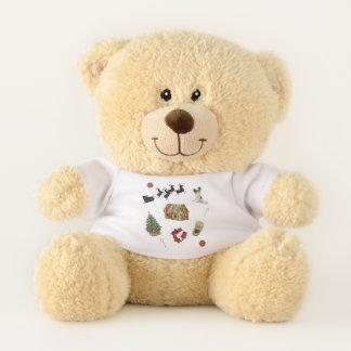 Weihnachtsdekorationen Teddybär