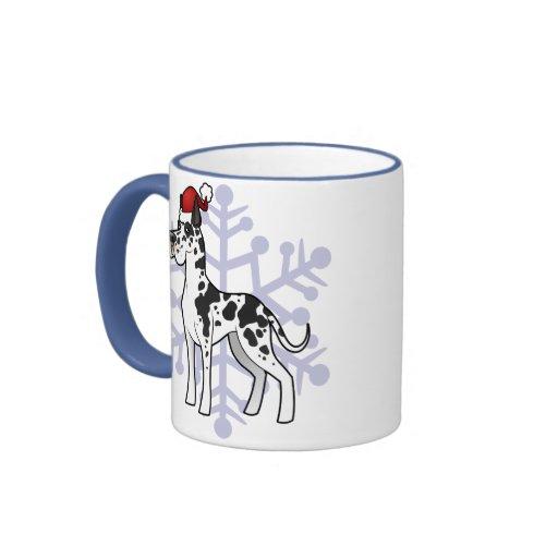WeihnachtsDeutsche Dogge Tee Tassen