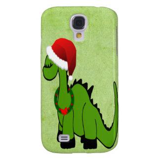 Weihnachtsdinosaurier Galaxy S4 Hülle