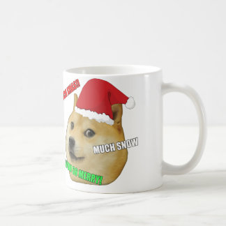 WeihnachtsDoge Meme Tasse